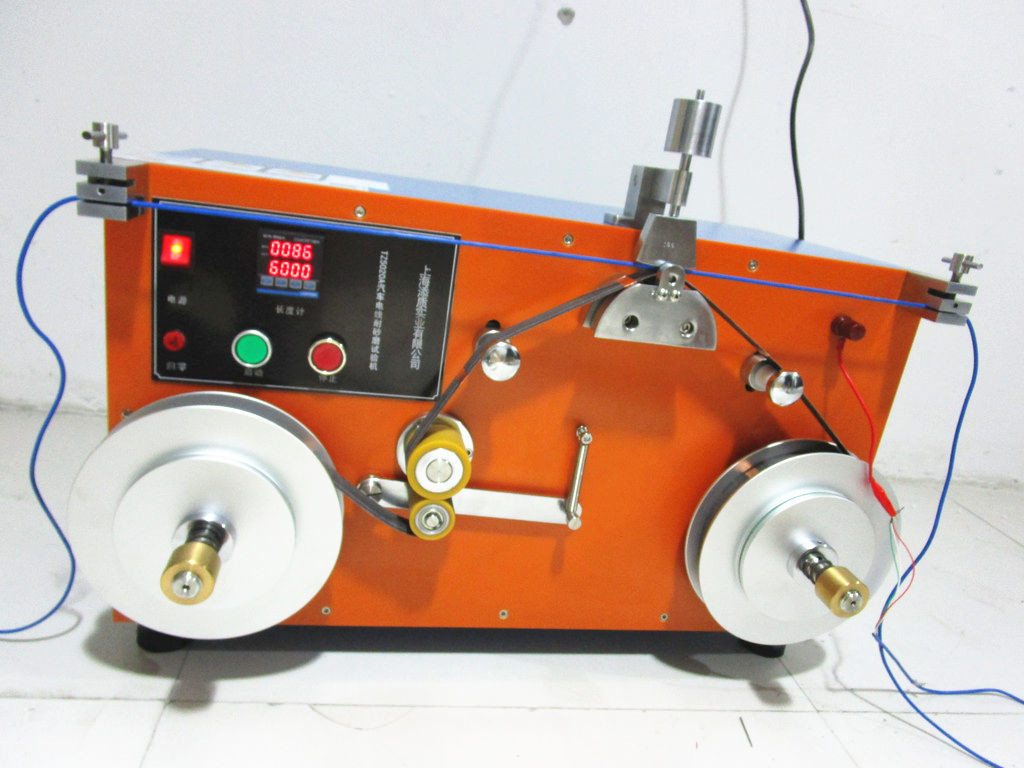 ISO 6722-1 Clause 5.12.4.1 Apparatus For Sandpaper Abrasion Test / Auto Cable Insulation Jacket Abrasion Resistance Test